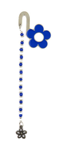Picture of Bookmark - Daisy (Blue/White)