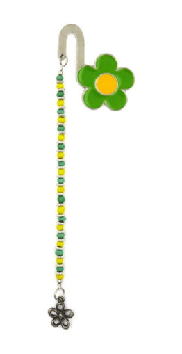 Picture of Bookmark - Daisy (Green/Yellow)