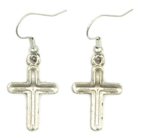 Picture of Earrings - Large Cross
