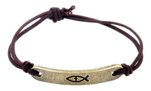 Picture of Bracelet - Fish (Antique Brass)