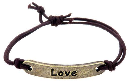 Picture of Bracelet - Love (Antique Brass)