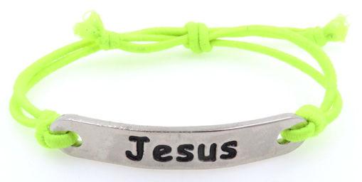 Picture of Bracelet - Jesus (Nickel)
