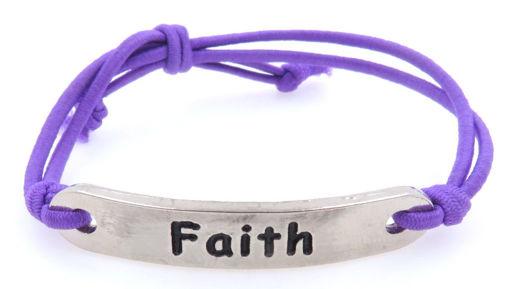 Picture of Bracelet - Faith (Nickel)