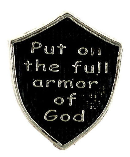 Picture of Lapel Pin - Armor (Painted)