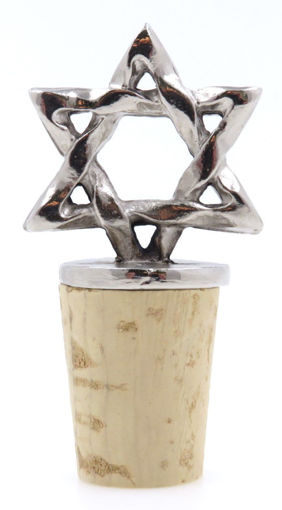 Picture of Bottle Stopper - Star of David