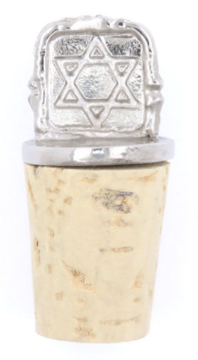 Picture of Bottle Stopper - Square Star of David