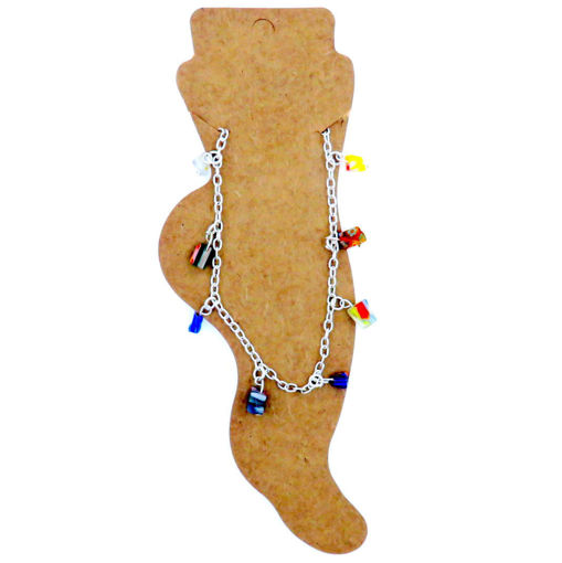 Picture of Anklet - Multi Stone