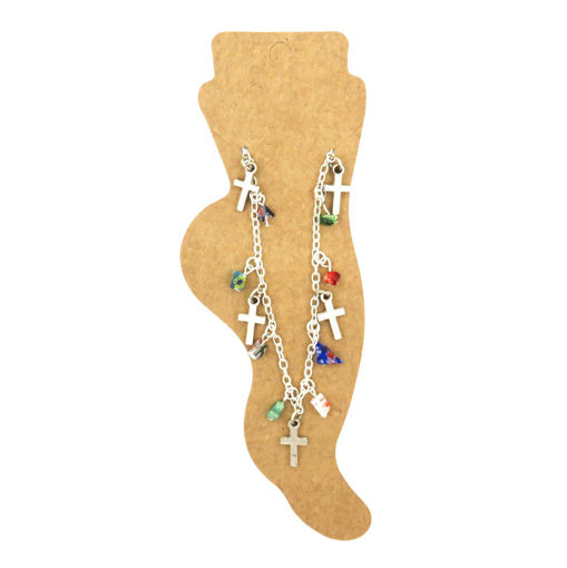 Picture of Anklet - Cross