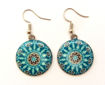 Picture of Earrings - Round (Enamel)