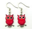 Picture of Earrings - Owl (Enamel)